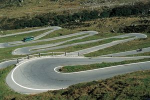 Countless hairpins in every style and fashion, slow, fast, up and down
