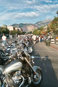 Ogden's historic 25th Street looked like a mini-Sturgis.