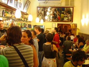 "The ""Mundial Bar"" in Barcelona: A real cool Tapas place near the Arc del Triomf in the Casc Antic quarter."