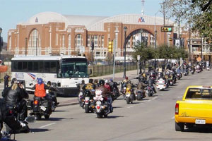 More than 850,000 Texans have motorcycle licenses.