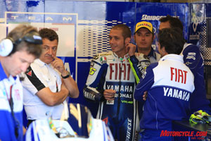 Valentino Rossi's immense talent and engaging personality are irresistible to race fans.