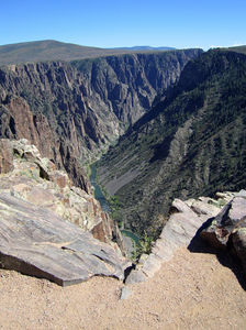 No other canyon in North America combines the narrow opening, sheer walls, and startling depths offered by the Black Canyon of the Gunnison.