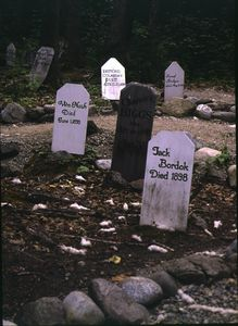 Gold Rush Cemetery accommodates Skagway's good, bad and ugly.