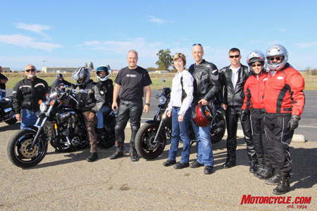 While not everyone took to the track, attendees to this Sunday�s event definitely went home with smiles on their faces.