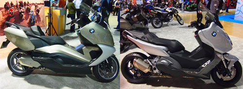 2011 Long Beach IMS BMW C600 Sport and C650 GT