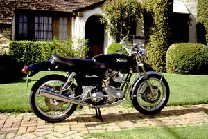 "Paul's lovely ""A deal he couldn't refuse"" 1970 Norton 750 Commando"