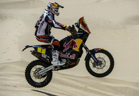 Cyril Despres Dakar Action