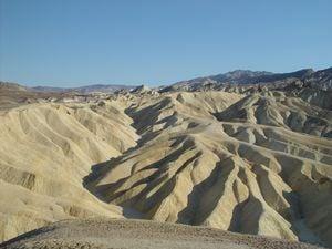 Just one of many amazing views from Zabriskie Point