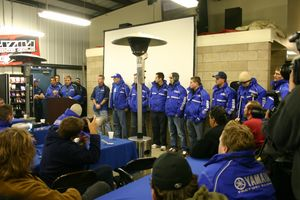 Keith McCarty introduces Yamaha's 2004 Champions