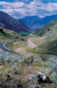 Richter Pass near Osoyoos. (Photo courtesy Tourism British Columbia)