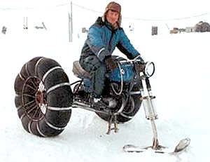 "After losing a power struggle with his employer Pete has been ""reassigned"" to Motorcycle.com's ""northern bureau."""