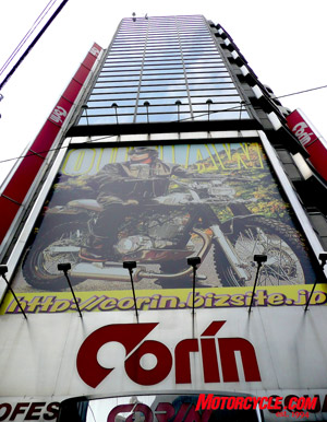 A good place to hunt for late-model Shoei and Arai helmets is Corin.
