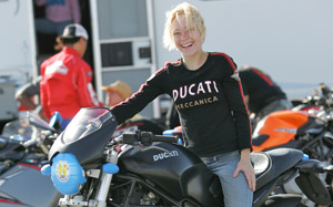 The motorcycle spirit lives within the ladies at Femmoto 2007.