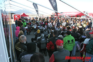 Just $250 bought a two-day pass to ride fleets of demo bikes, so it�s no surprise Femmoto 2007 attracted its largest crowd ever.