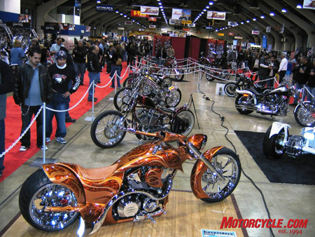 You're definitely at a custom show, and because it's Easyrider you can expect the best!