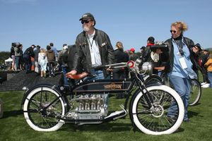 Best of Show - Mike Madden's 1915 Henderson Long Tank