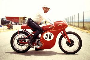 Al Mark has been roadracing for 62 years.