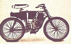 First American production motorcycle - 1898 Orient-Aster