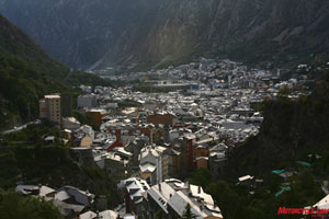 The city of Andorra.