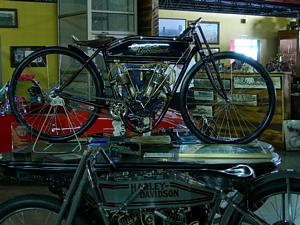 This 1909 Reading Standard is a pristine and rare example of the proliferation of American bike makers from the early 20th century. It is one of over 250 reasons to make a trip to the Wheels Through Time museum... And it runs!