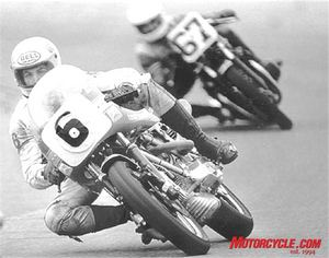 Erik Buell has been a longtime fan of air-cooled V-Twins, racing this Ducati 900SS in the 1978 AMA Superbike season. He was the top-qualifying rookie in that year�s Daytona 200, out-pacing GP hero Randy Mamola.