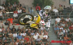 No surprise that Ricky Carmichael takes the Gold meal in the inaugural Moto X Racing event