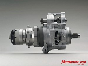 Honda's innovative new transmission uses hydraulic pressure to drive the rear wheel.