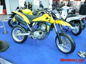 We can now use the words Hyosung and supermoto in the same sentence.