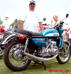 Suzuki�s GT750 debuted in 1972 as one of the first two-strokers to incorporate liquid cooling, hence earning its �Water Buffalo� moniker.