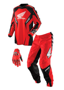 Fox HC-180 jersey pant and glove combo