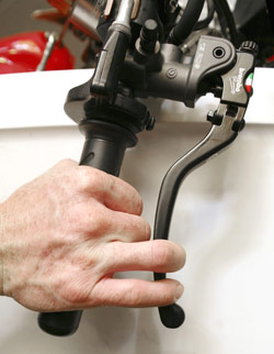 Properly adjusted levers can optimize performance and control.