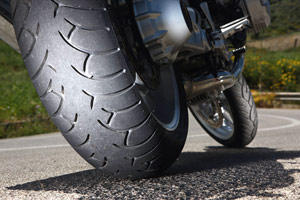 Proper tire care is important for safe riding.