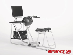 The Honda SMARTrainer traffic simulator is the latest tool in helping riders develop defensive riding skills.