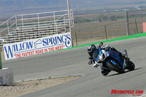 Training courses or track day riding schools are ideal places to practice the SEE techniques.