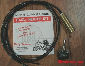 Heated Grips Evaluation on heated grips relay connecting to, heated grip repair, heated grip wire phazer ll,