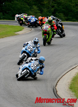 The story of the 2008 (final) season of AMA Superstock. Aaron Yates took the championship with May a close second.