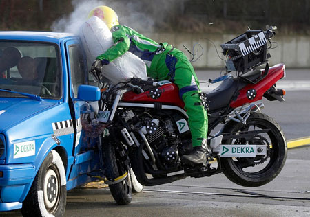 Motorcycle Crash Test Dummy