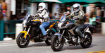Middleweight Multi-tool Shootout: 2012 Honda NC700X vs. Kawasaki Versys - Video