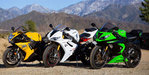 2013 Kawasaki ZX-6R vs. 2012 Suzuki GSX-R750 vs. 2012 Triumph Daytona 675R - Video