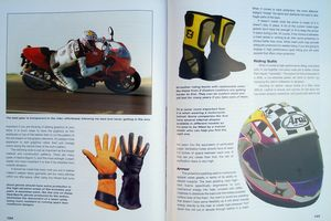 """There's a nice, comprehensive section on riding gear."""