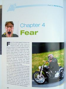 """Most motorcycle authors never even mention fear; Lee talks about how to overcome and use it."""