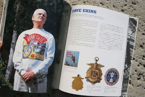 Dave Ekins: Teammate and brother to Bud Ekins.