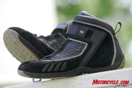 The Fuel Shoe from Shift Racing.