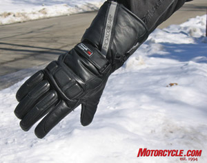 Longride wished the Ultra gloves came with a zippered gauntlet for ease of use over jacket cuffs.