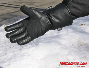 "Keprotec material used to reinforce the glove palm is purportedly ""five times stronger than steel, gram for gram."""