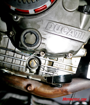 Most track schools and all racing organizations require that you safety wire all oil drain bolts, the oil fill cap and spin-on external oil filters.