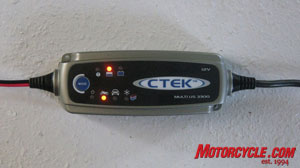 CTEK Multi US 3300 charger.