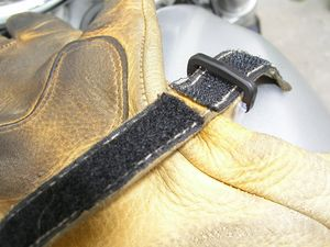 """The problem with Velcro  is that it wears out faster than the gloves do."""