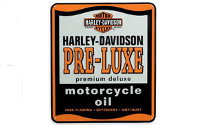 Harley-Davidson Pre-Luxe Motorcycle Oil Tin