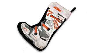 KTM and Alpinestars Christmas Stocking